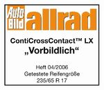 Continental Conti Cross Contact LX