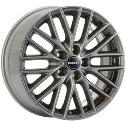 Borbet BS5 7.0x16 5x114.3 ET40 72.5 Metal grey rim