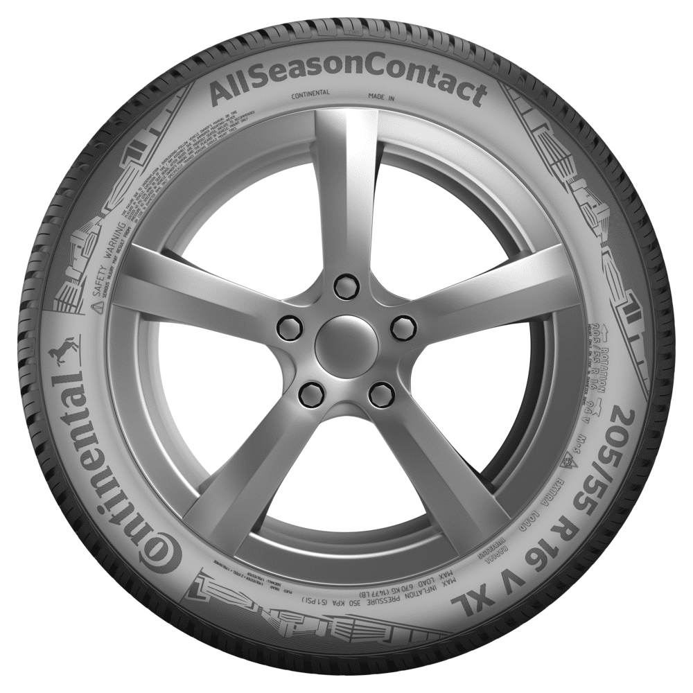 continental all season contact 205 55 r16 94 h xl car tyre